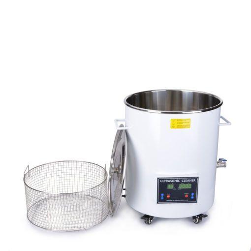 Ultrazvuková čistička s kulatou vanou Barell 90 32R, objem sudu 90 litrů DKG