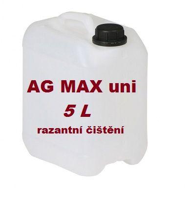 AG MAX Uni universální čistící koncentrát, kanystr 5 litrů SG