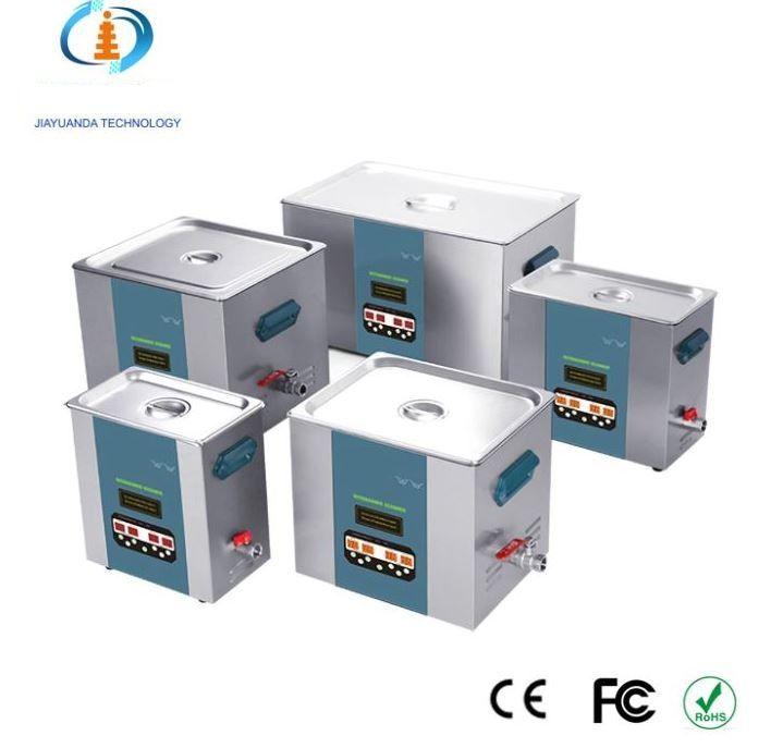 Třífrekvenční ultrazvuková čistička JYD-3480L, vana 22 litrů frekvence 40 / 80 / 120 KHz JIAYUANDA Technology