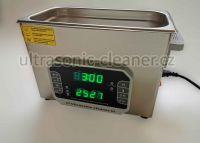Ultrazvuková čistička PF-1500 se střídavou frekvencí 33,40 KHZ, vana 15 litru DKG