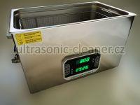 Ultrazvuková čistička PF-3000, vana 30L se střídavou frekvencí 33,40 KHZ