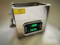 Ultrazvuková čistička PF-1000 vana 10L se střídavou frekvencí 33,40 KHZ