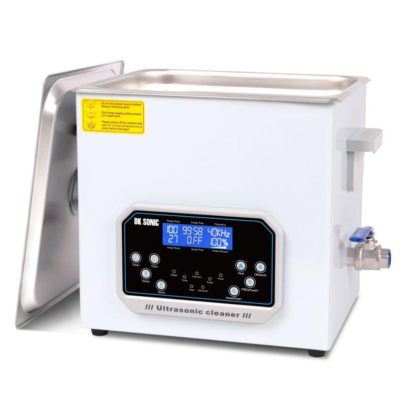 Dvoufrekvenční ultrazvuková čistička 40,80 kHz DK-1500TS, vana 15L DKG