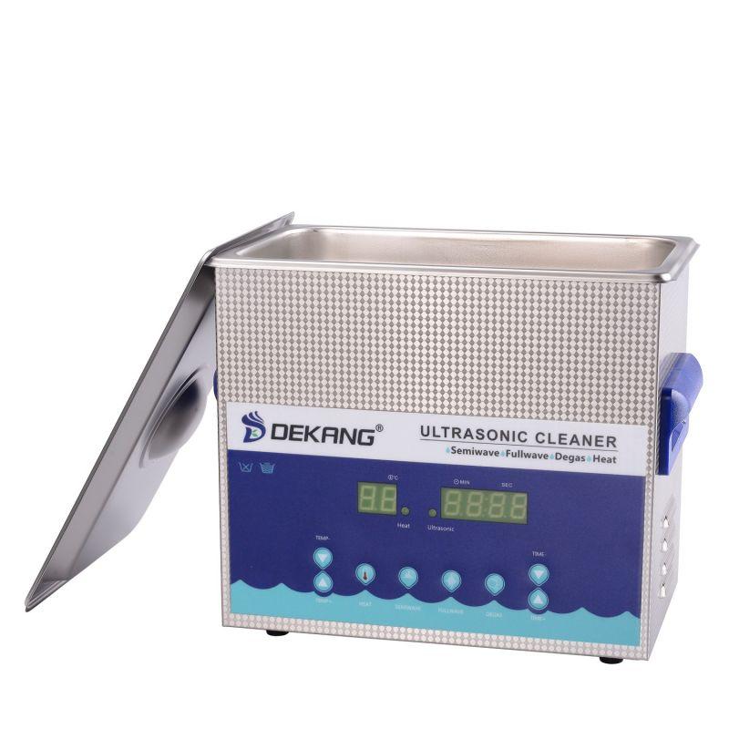 Dvoufrekvenční ultrazvuková čistička DK-450S, vana 4,5 litrů, frekvence 28 kHz a 40 kHz DKG