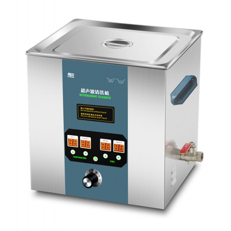 Vysokofrekvenční ultrazvuková čistička UC-8360L, vana 20L, frekvence 3/68/80/100/130KHz JIAYUANDA Technology
