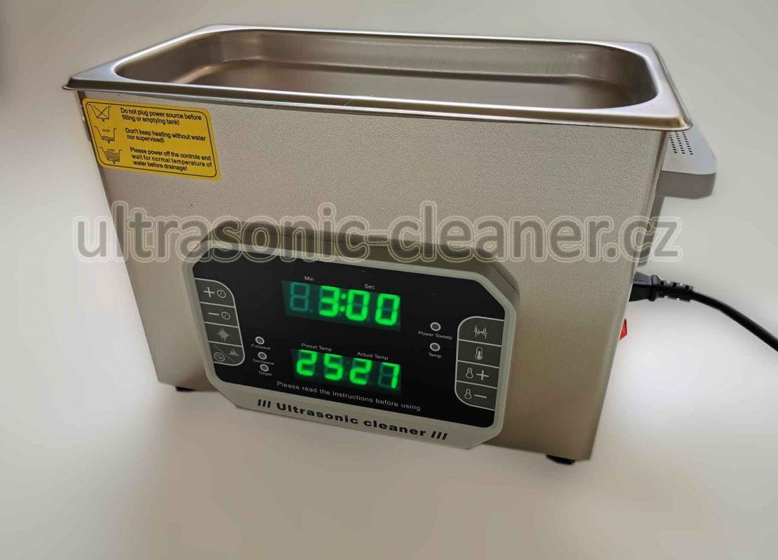 Čističky s využitím střídavé frekvence 33,40 KHZ