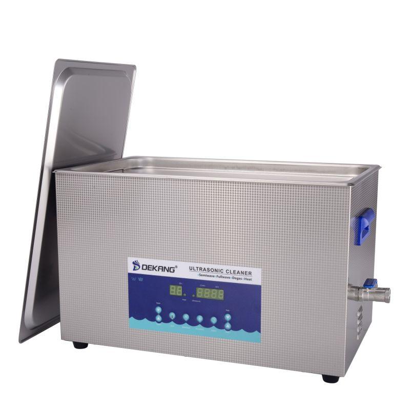 Dvoufrekvenční ultrazvuková čistička DK-2200S, vana 22 litrů, frekvence 28 kHz a 40 kHz DKG