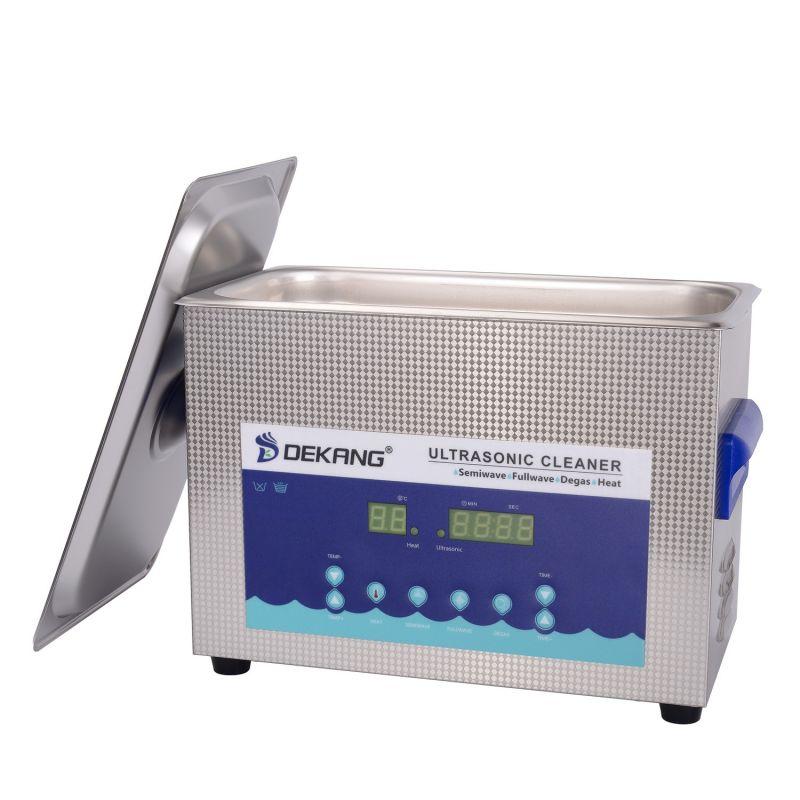 Dvoufrekvenční ultrazvuková čistička DK-600S, vana 6,5 litrů, frekvence 28 kHz a 40 kHz DKG