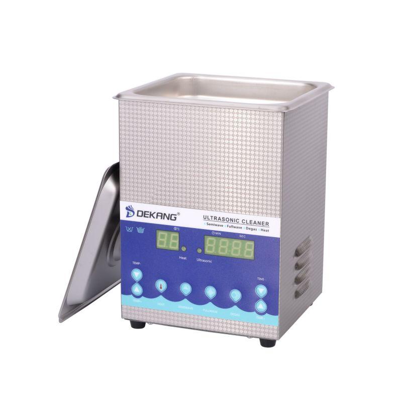 Dvoufrekvenční ultrazvuková čistička DK-200S, vana 2 litry, frekvence 28 kHz a 40 kHz DKG