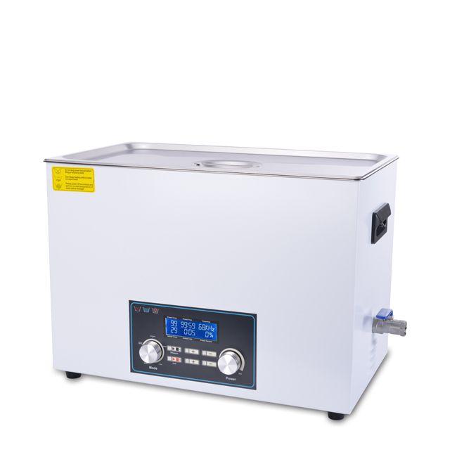 Inteligentní ultrazvuková čistička 1030FTS s pamětí a High End LCD displejem, vana 30 litrů