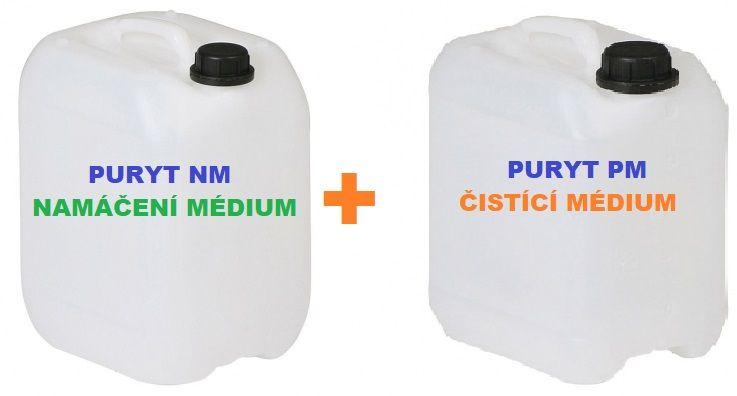 PURYT NM a PURYT PM k odstranění plastů z různých materiálů, kanystr 2 x 5 litrů ReKh