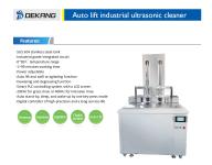 Ultrazvuková čistička Industrial DK-38DM s automatickým zvedáním koše, vana 38 litrů DKG