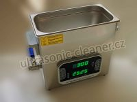 Ultrazvuková čistička PF-600 se střídavou frekvencí 33,40 KHZ, vana 6.5 litru DKG