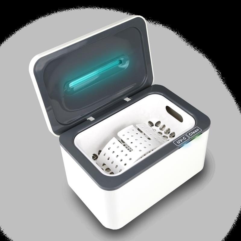 Ultrazvuková čistička Uvemis 800 se sterilizačním UV-C světlem Sonic